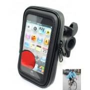 Suport impermeabil pentru telefon smartphone pe ghidon pentru biciclete, motociclete sau ATV