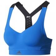 adidas Women's Climachill High Support Sports Bra - Blue - L - Blue