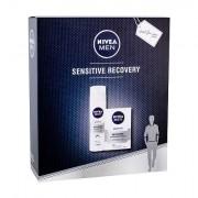 Nivea Men Sensitive Recovery After Shave Balsam 100 ml + Rasierschaum 200 ml für Männer