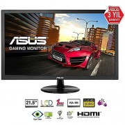 "Asus VP228HE 21.5"" Full HD 1920x1080p VESA 1ms Hdmi D-Sub Gaming Ekran Monitör"