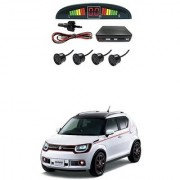 KunjZone Car Reverse Parking Sensor Black With LED Display Parking Sensor For Maruti Suzuki Ignis