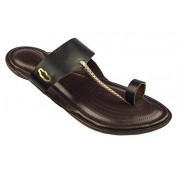Chappers Vira (Ultra-Soft Soles) Mens Pure Leather Hand stich Ethnic kolhapuri Chappal Size 8