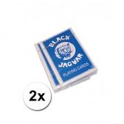 Geen 2 pakjes NL talige speelkaarten