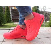 Pantofi sport femei ,model 73690, Skechers, material piele ecologica, rosu