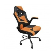 Naceb Silla Gamer Air Striker, Negro/Naranja