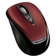 Microsoft Wireless Mobile Mouse 3000 - Red