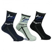 Stylish Look Mens Ankle Socks 3 Pair- GS-5-58