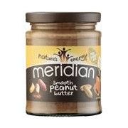 MERIDIAN NATURAL Smooth Peanut Butter 280 g Salt MERIDIAN NATURAL - VitaminCenter