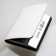 Presenter Elegant visitkortshållare med gravyr