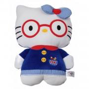 Jemini hello kitty knuffel doll pluche blauw 14 cm