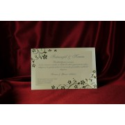 invitatii nunta cod 526
