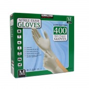 Kirkland Nitrile Gloves 400 Pack/Multi-Purpose/Latex-free/Kimberly-Clark - Medium