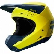 SHIFT Casco Shift White Label 2019 Yellow / Navy