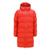 Rains Winterjassen Long Puffer Jacket Rood