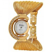 Branded NUBELA Women Watches Glory Gorgeous Golden Strap Wrist Watch for Party/Wedding 6 month warranty