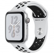 Apple Watch Nike+ Series 4 GPS 40mm Alumínio Prateado com Bracelete Desportiva Nike Platina Pura/Preta