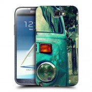 Husa Samsung Galaxy Note 2 N7100 Silicon Gel Tpu Model Vintage Car