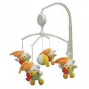 Carusel Muzical Pentru Patut Calm Baby - Polar Bears