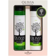 Olivia Gift Set Fusion Fig Shower Gel 300 ml & Body Lotion 300 ml