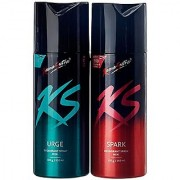 kamasutra collection fresh spicy deo body spray pack of (2) pcs