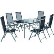Baštenska garnitura Corsica sto+6 stolica 110971