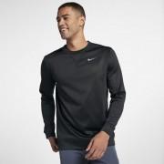 Haut de golfà manches longues Nike Therma pour Homme - Noir