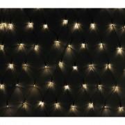 vidaXL Мрежа от 600 коледни LED лампички, 7 х 0.8 м.