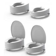 Meyra Easy-Clip WC magasító 15 cm fedél nélküli
