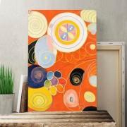 "ART Leinwandbild ""Kunstwerk"" Kunstdruck von Hilma af Klint Big Box Art Größe: 76 cm H x 50 cm B"