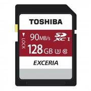 clase U3 UHS-I Toshiba exceria 128 GB SDHC 90MB / s 10 4K THN-N302R1280C4