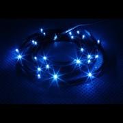 Cablu NZXT Sleeved LED Kit Blue 24x LED 2m, CB-LED20-BU