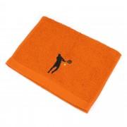 Linnea Serviette invite 33x50 cm 100% coton 550 g/m2 PURE TENNIS Orange Butane