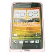 Силиконов гръб ТПУ за HTC Desire 600 Розов
