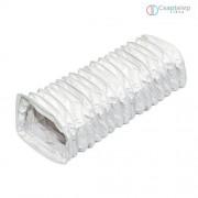 Awenta KE75-60 négyszögletes flexibilis műanyag lapocsatorna 75X150 /6 méter