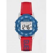 Guess Horloge Met Bandje Van Silicone - Rood multi - Size: T/U
