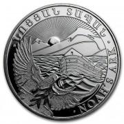 Stříbrná investiční mince Noemova archa Arménie 1 Oz 2017