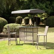 All Round Fun Greenland 2 Seater Bar Set With Canopy