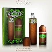 Cuba Green - zestaw, woda toaletowa, roll on