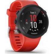 Sportski sat Garmin Forerunner 45L, GPS, za trčanje, senzor pulsa na zapešću, crveni