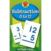 Subtraction 0 to 12 Flash Cards, Paperback/Brighter Child