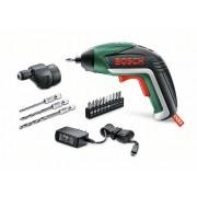 Комплект винтоверт акумулаторен IXO Drill с приставка за пробиване, 06039A8007, BOSCH