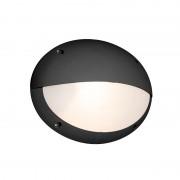QAZQA Wall lamp black IP65 - Maddi
