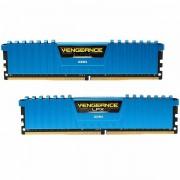 CORSAIR Vengeance LPX 16GB 2x8GB DDR4 DRAM 3000MHz C15 Memory Kit - Blue CMK16GX4M2B3000C15B