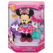Minnie Brillos Moda Fisher Price Mattel Disney Luz Sonido