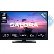 Salora 6500 series 24HDB6505 tv 61 cm (24 ) HD Zwart