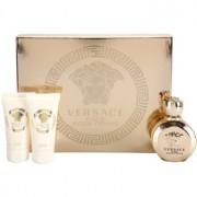 Versace Eros Pour Femme lote de regalo I. eau de parfum 50 ml + gel de ducha 50 ml + leche corporal 50 ml
