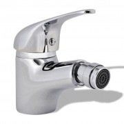 vidaXL Bathroom Bidet Mixer Tap Chrome