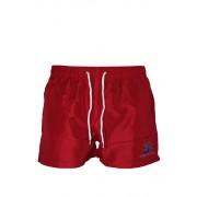 Abram Red pánské koupací šortky XL červená