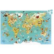 Vilac World Map Cardboard Puzzle (500 Piece), 92 x 62cm