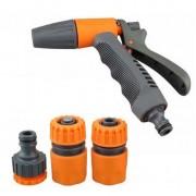 Set pistol pentru udat ajustabil+conectori furtun - MTO-YM7508